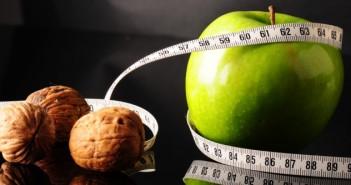 100 gr noten is gelijk aan 11 appelen