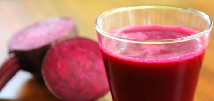 wanneer drink je best rode bietensap?